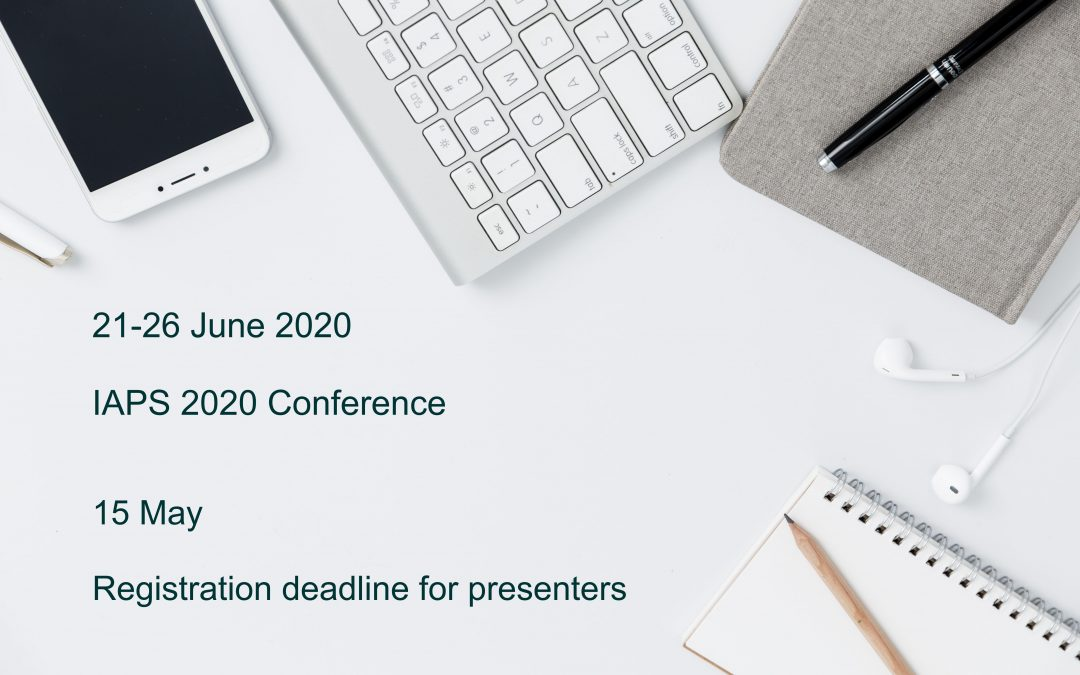 IAPS CONFERENCE 2020 Is Going Virtual